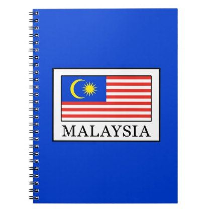 Malaysia Notebook - diy cyo customize create your own #personalize