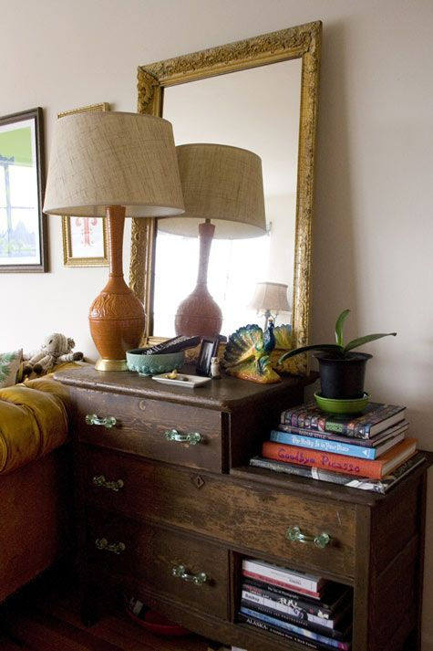 that odd chest of drawers rocks.
