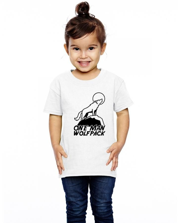 one man wolf pack Toddler T-shirt