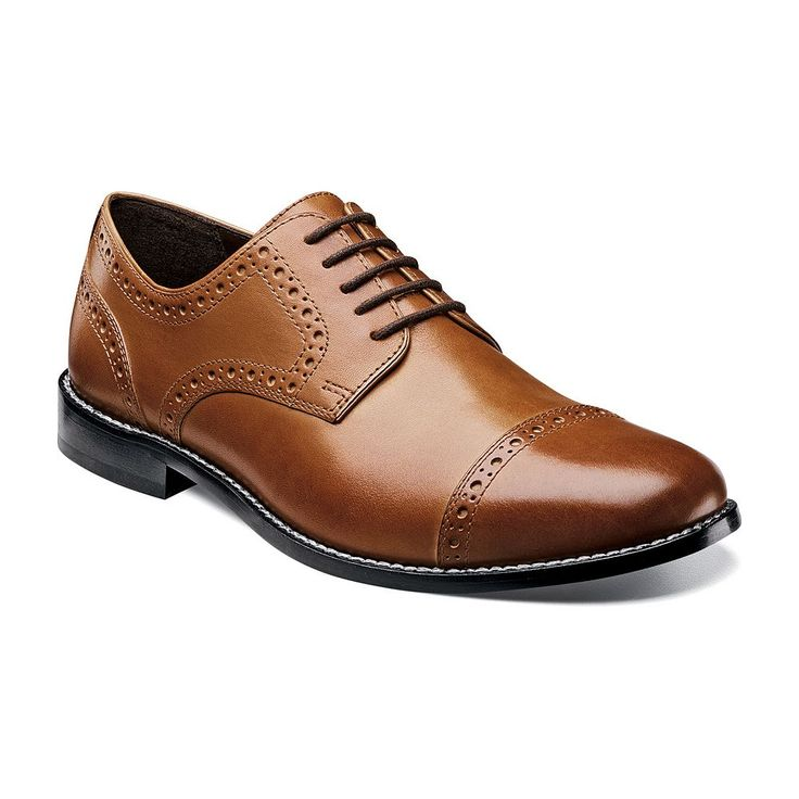 Nunn Bush Norcross Men's Brogue Dress Shoes, Size: medium (11.5), Red/Coppr (Rust/Coppr)