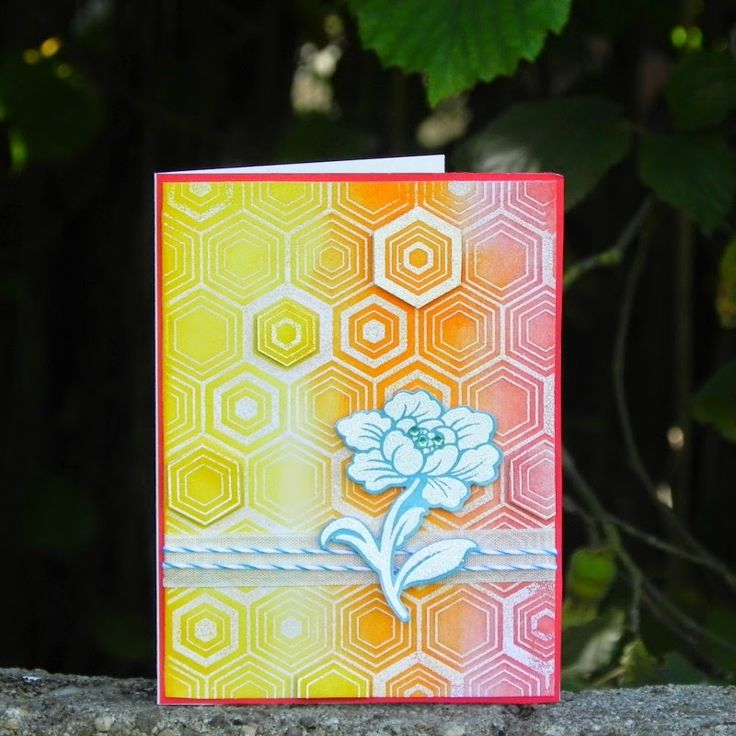 Summer card for Craft Stamper challenge