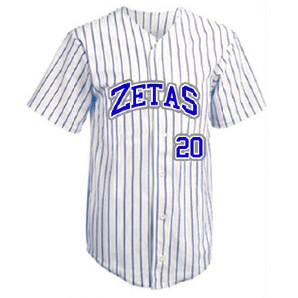 Zeta Phi Beta   GRIZZLY BASEBALL JERSEY