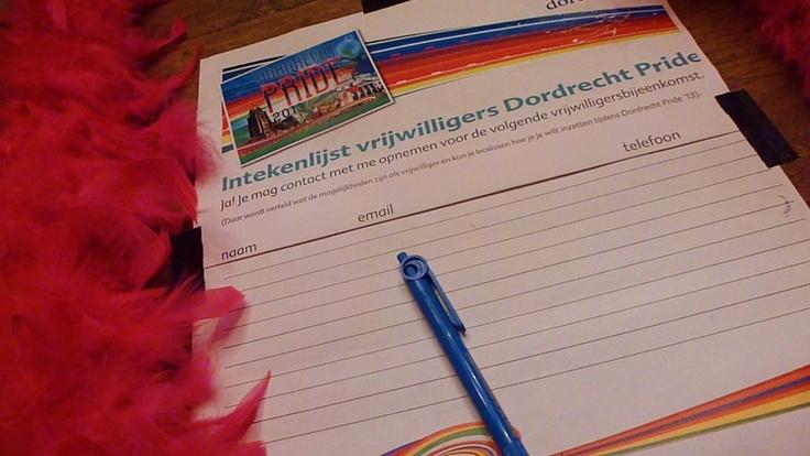 Dordrecht Pride vrijwilligers