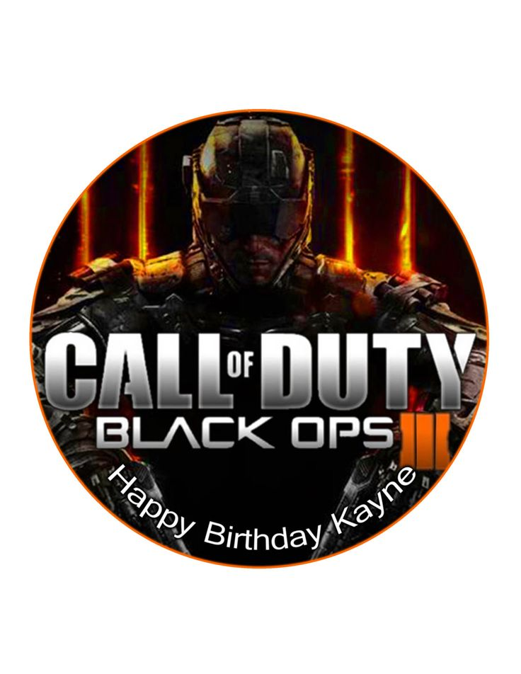 1000 ideas about black ops cake on pinterest black ops for Black ops 3 decorations
