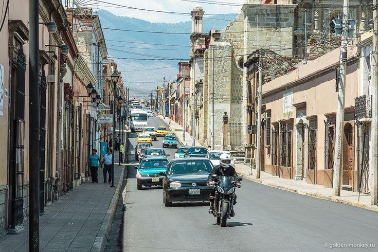 Оахака, улочки