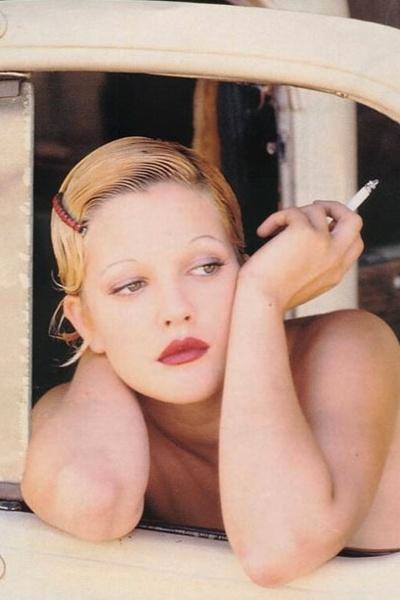 Drew Barrymore (Photography by Ellen von Unwerth)