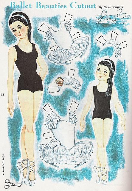 165 best images about vintage ballet paper dolls paper cards prints on pinterest 1960s. Black Bedroom Furniture Sets. Home Design Ideas