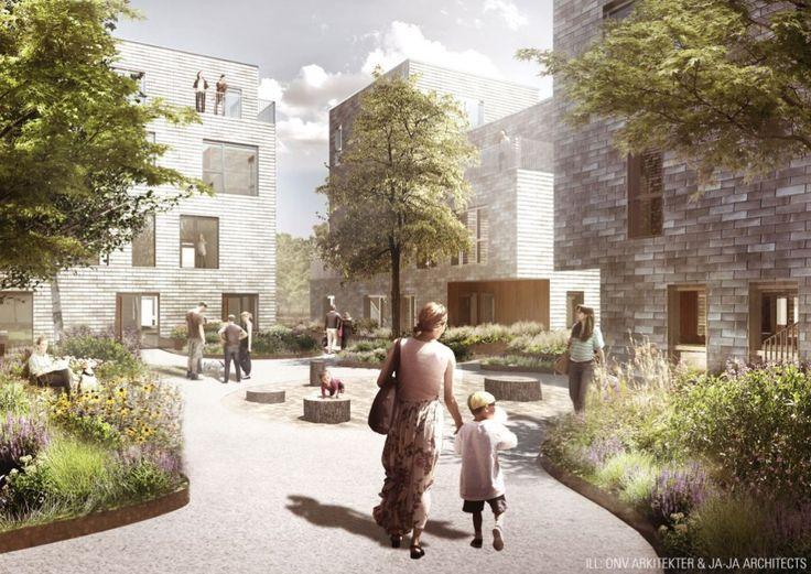 AlmenBolig+ Affordable Housing Winning Proposal | JAJA + ONV