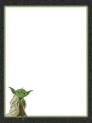 Journal Card - Star Wars - Yoda - 3x4 photo by pixiesprite