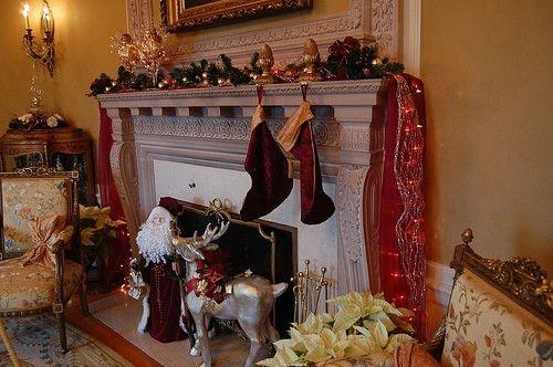christmas decorating fireplace,decorating fireplace mantel