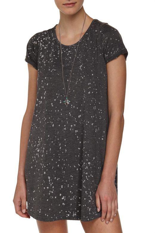tina tshirt dress, CHARCOAL SPLATTER AUS $20 on sale