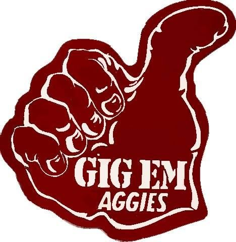 Gig em Aggies-Texas A&M University
