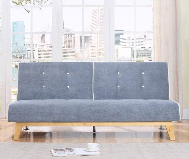 Shop Birlea Furniture Jackson Grey Fabric Sofa Bed Modern And Stylish Sofa Bed With Fast Home Delivery At Furniture Direct Uk Cheap Sofa Beds
