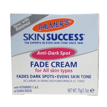 Free 2-day shipping on qualified orders over $35. Buy Palmer's Skin Success Anti-Dark Spot Fade Cream For All Skin Types, 2.7 OZ at Walmart.com
