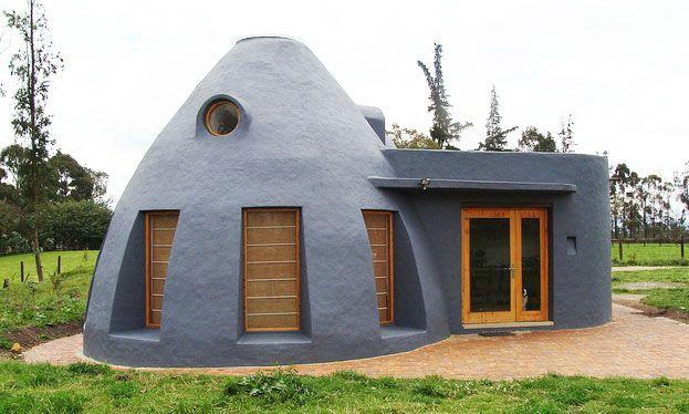 casayburro.com » Blog Archive » Preciosa casita de superadobe en Bogotá