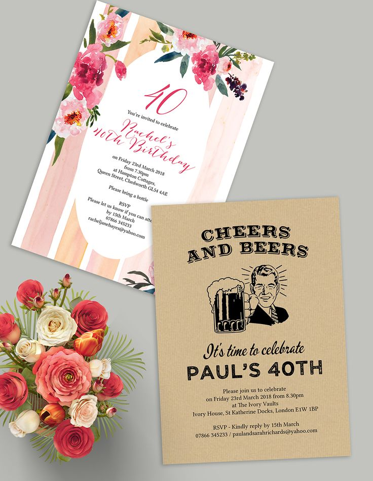 33 best Wedding Anniversary Personalised Invitations images on ...