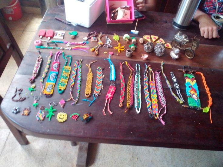 Algunas de mis artesanias.