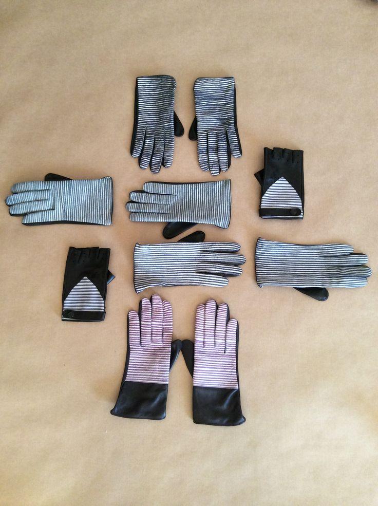 handpainted gloves