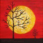 Рыбин Дмитрий - Желтое солнце на красном небе