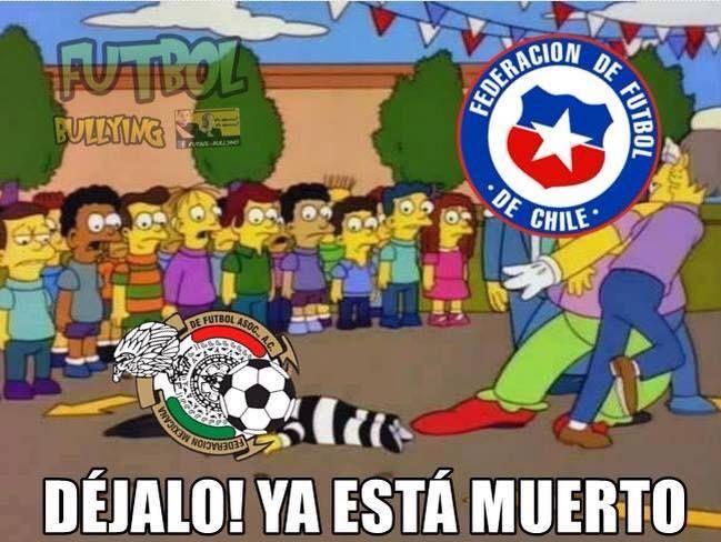 Chile 7 Mexico 0 - Le descalabro los cachetes (+18) - Taringa!