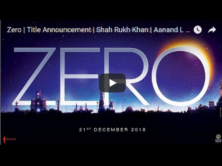 Watch here First look of Shah Rukh Khan's Dwarf Avatar in Aanand L Rai's Zero Film. Starring Shah Rukh Khan, Anushka Sharma and Katrina Kaif.