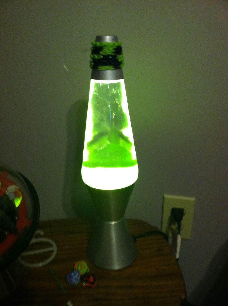 Creeper Lava Lamp