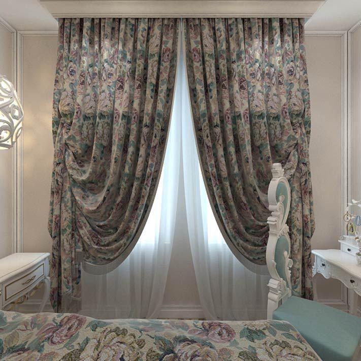 Гобелены и ткани для спальни в стиле арт-деко