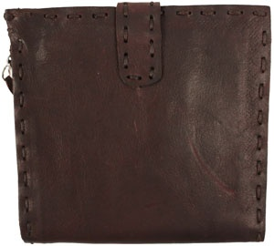 kangaroo 3-fold zipper wallet - brown  by Johnny Farah --- Bought one of his wallets years ago in Barney's...and it is still fabulous!