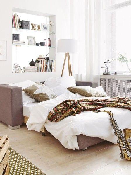 Freunde wollen bei Ihnen übernachten? Auf komfortablen Gästesofas schlafen diese richtig gut.