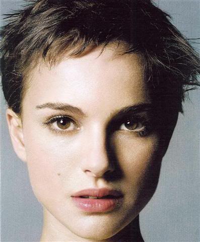 Natalie Portman Short Hair | Natalie Portman Short Hair Back