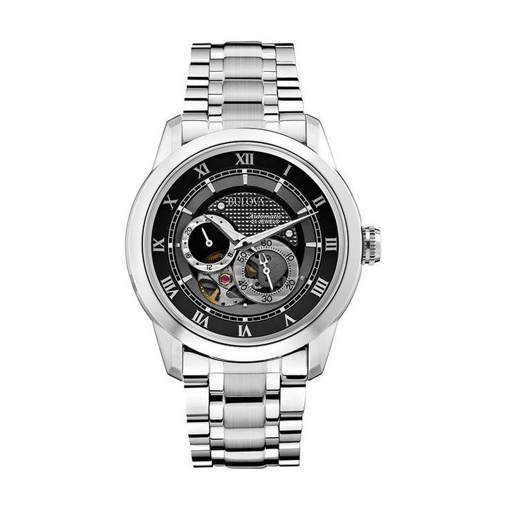 Bulova Automatic Mens Watch 96A119 #Bulova #Watch #Automatic #Watch #BulovaWatch