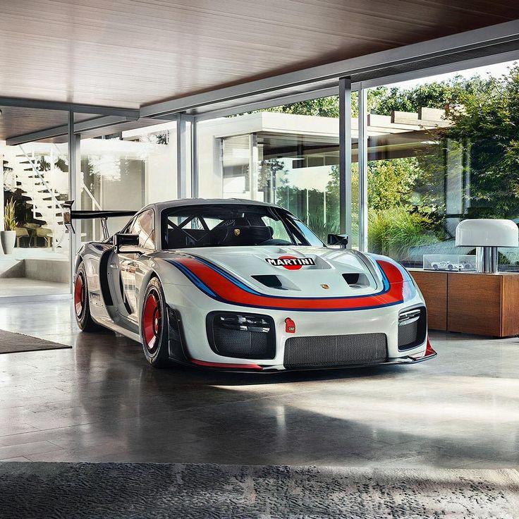 """Porsche di Instagram """"Wann ist ein Rennauto Kunst? Wenn es Grenzen … – Z_1000"""