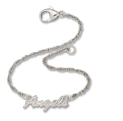 Los Angeles Angels of Anaheim 'Angels' Sterling Silver Script Bracelet