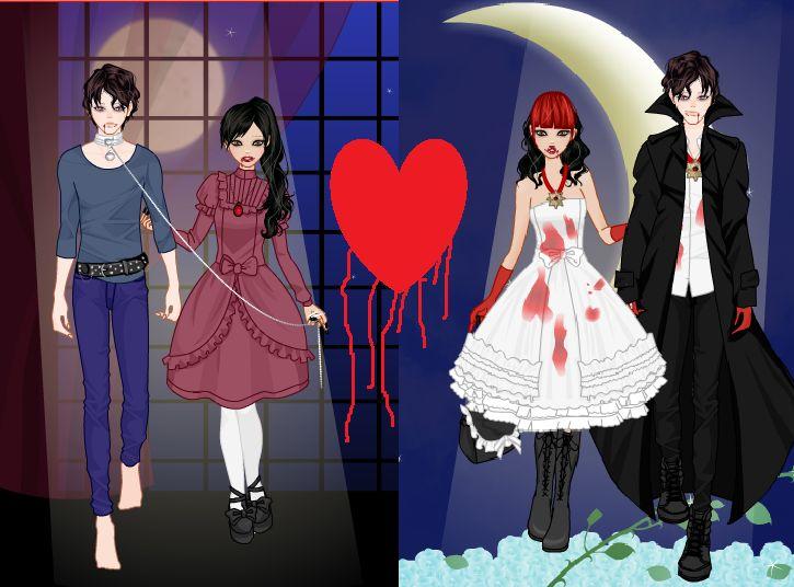 vampire dating games