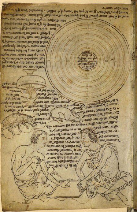 Villard de Honnecourt (Francia, 1200-1250). Maestro de obras itinerante, del que se conserva su cuaderno de viajes, donde realizó numerosos dibujos con interesantes anotaciones.