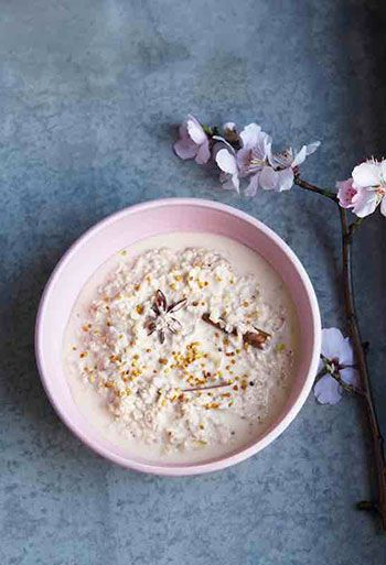 This porridge is bursting with goodness – the cinnamon and baobab fruit serve to boost your immune system, and the oats release their energy slowly, giving you
