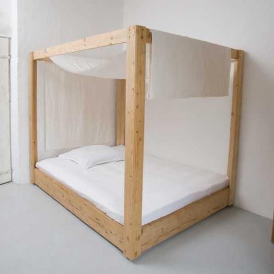 17 best images about beds on pinterest reclaimed wood for Recycled wood bed