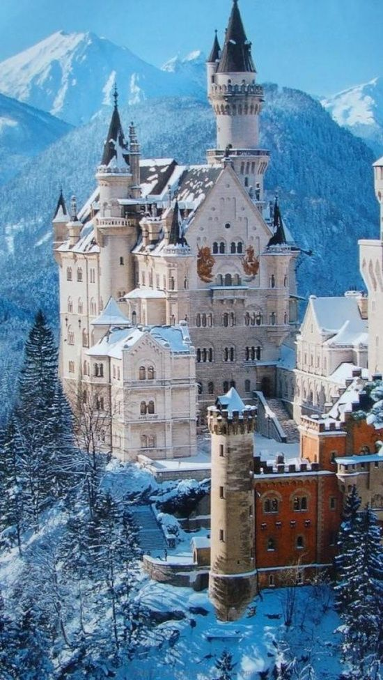 kings only | winter | germany |castle neuschwanstein. #travel #travelinsurance #iloveinsurance See the world. Do your travel insurance comparison online, save time, worry, and loads of money. http://www.comparetravelinsurance.com.au/