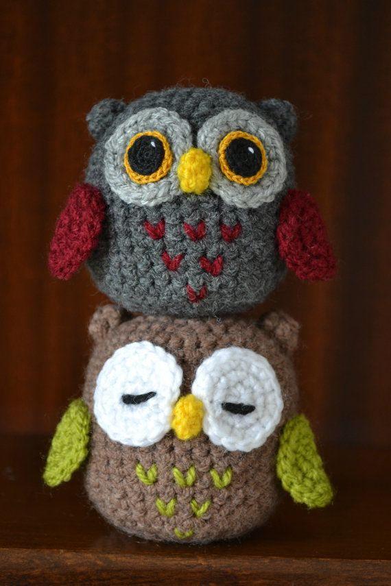 Amigurumi Owl Family : 531 best images about dolls on Pinterest See more best ...