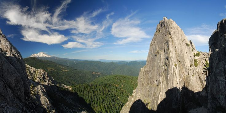 Mount Shasta (14,179 ft) from Castle Crags Dome.- California's 60 Best Day Hikes