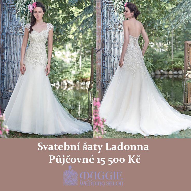 Svatební šaty Ladonna, salon Maggie #svatebnisaty #svatba #svatby #svatebnisalon #svatebnistudio #saty #MaggieSottero #nevesta #satypronevestu