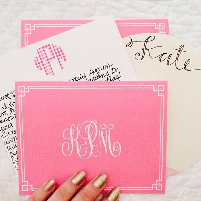 Personalized Papers Executive Stationery: Best 25+ Monogrammed Stationery Ideas On Pinterest