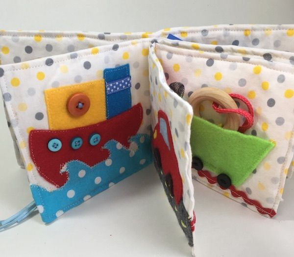 Child quiet guide – stitching sample and tutorial. Splendid to make as first child present,…