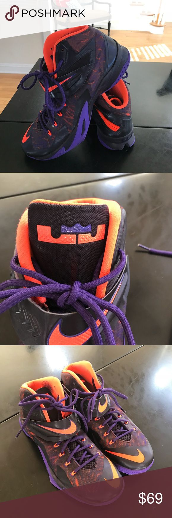 Nike LeBron Zoom soldier 8 Size 11.5. Like new. Excellent used condition. No original box Nike Shoes Sneakers
