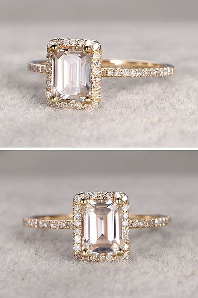 bague de fian ailles tendance 2017 2018 18 eye catching emerald cut engagement rings see. Black Bedroom Furniture Sets. Home Design Ideas