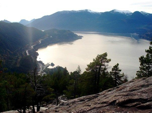 Stawamus Chief Hike. Did this when I was 15. Really need to hike it again.