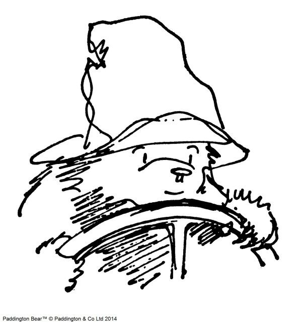 'Once Paddington got an idea firmly fixed in his mind it was very difficult to get him to change course, let alone gear, and apart from hurriedly opening the car door to let out the clutch he concentrated all his energies on the task in hand.'  From 'Paddington Takes the Test' by Michael Bond