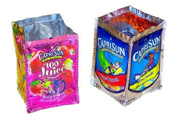 cute crafts to do with Capri sun pouches!