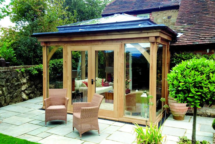 Orangeries - Oak Framed Orangery | Julius Bahn Oak Buildings