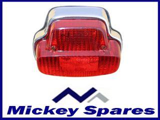 Rear-Back-Light-Chrome-R-cklicht-Chrom-Vespa-VBB-VNB-SPRINT-PX-80-125-150-200